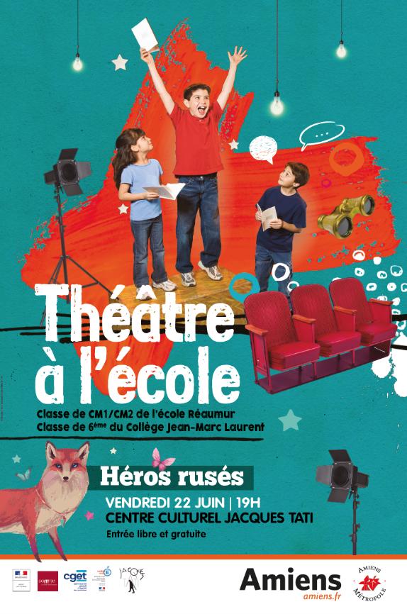 Théâtre à l'école - Héros rusés